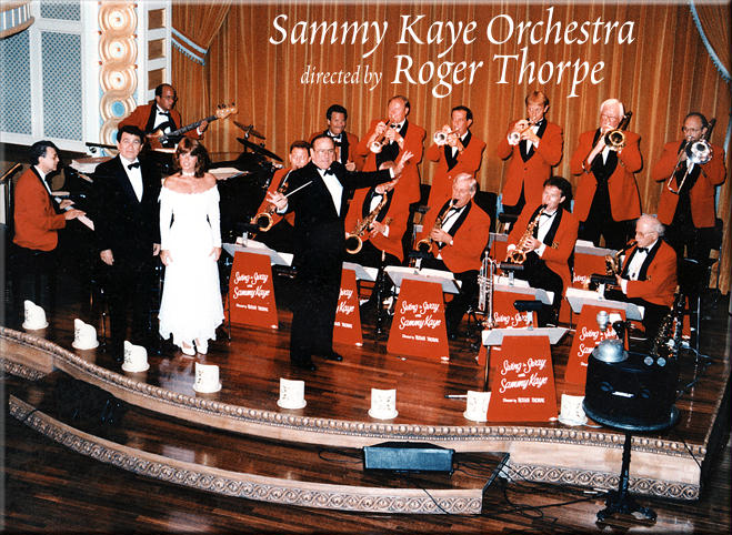The Sammy Kaye Orchestra aboard the American Queen Steamboat